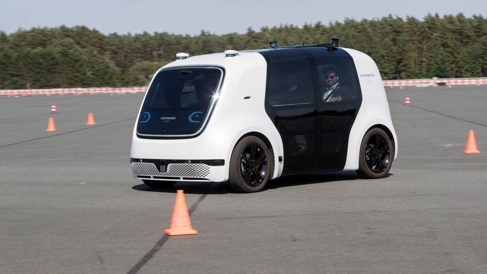 Viajamos en el Sedric, el coche autónomo del grupo Volkswagen