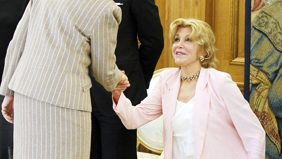 Doña Sofía y Tita Cervera: historia de una relación fría y cordial
