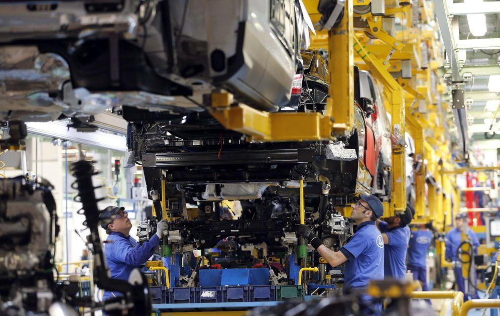 Foto: Imagen de archivo de la planta de Almussafes (Valencia) de Ford España. (EFE)