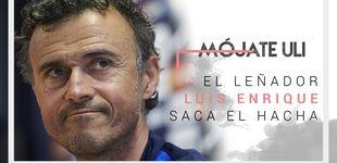 Post de El eslogan del leñador Luis Enrique para dar caña al vestuario de España