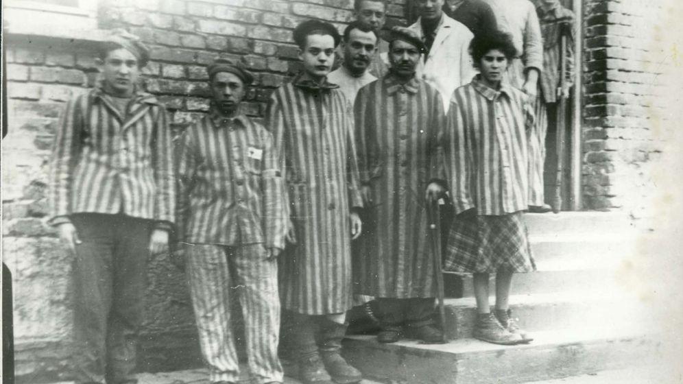 Foto: Prisioneros en la campo de concentración de Auschwitz. Foto: REUTERS