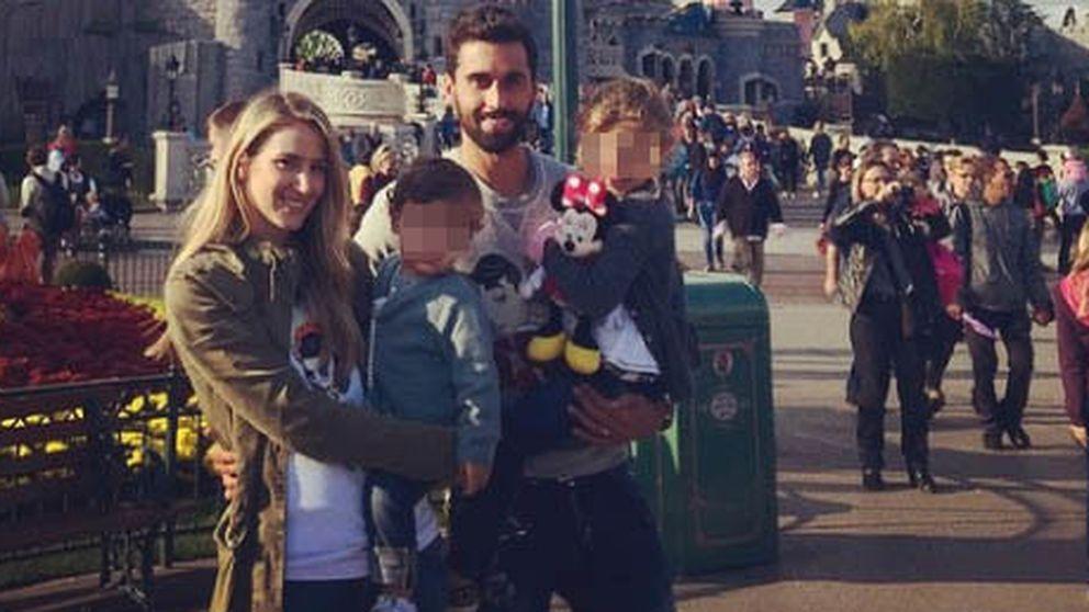 Arbeloa celebra sus 10 años en el Madrid junto a su familia en París