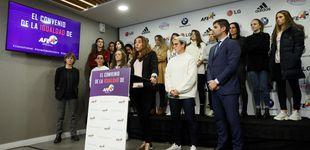 Post de Las futbolistas no descartan una nueva huelga si no se firma el convenio pactado