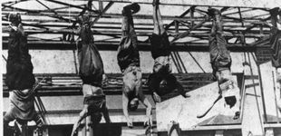 Post de Así cayó Mussolini: siete tiros y colgado boca abajo