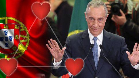 El triángulo amoroso del presidente de Portugal