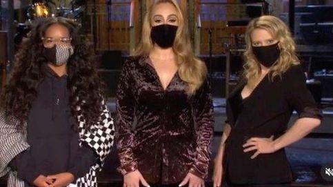 Adele vuelve a las andadas con su último look para su debut como presentadora de televisión