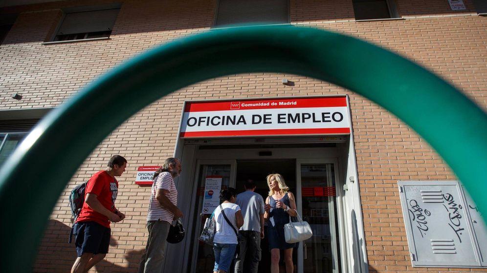 Foto: Oficina del paro en Madrid. (Reuters)