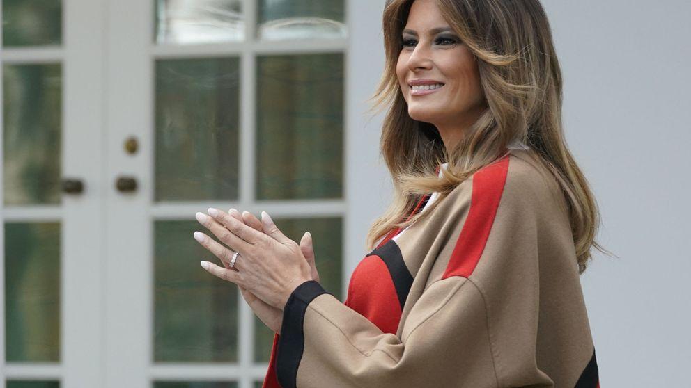 Del más barato (2.900 €) al más caro (50.000 €): los abrigos de Melania Trump