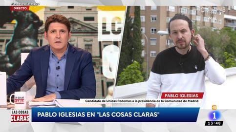 La incómoda pregunta de Jesús Cintora a Pablo Iglesias