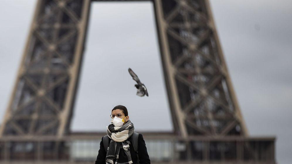 Foto: La Torre Eiffel, cerrada desde este sábado. (EFE)