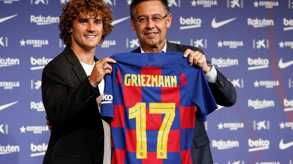 Foto: El presidente del Barcelona, Josep María Bartomeu, afirmó que el Atlético no tiene ninguna prueba contra su club. (EFE)