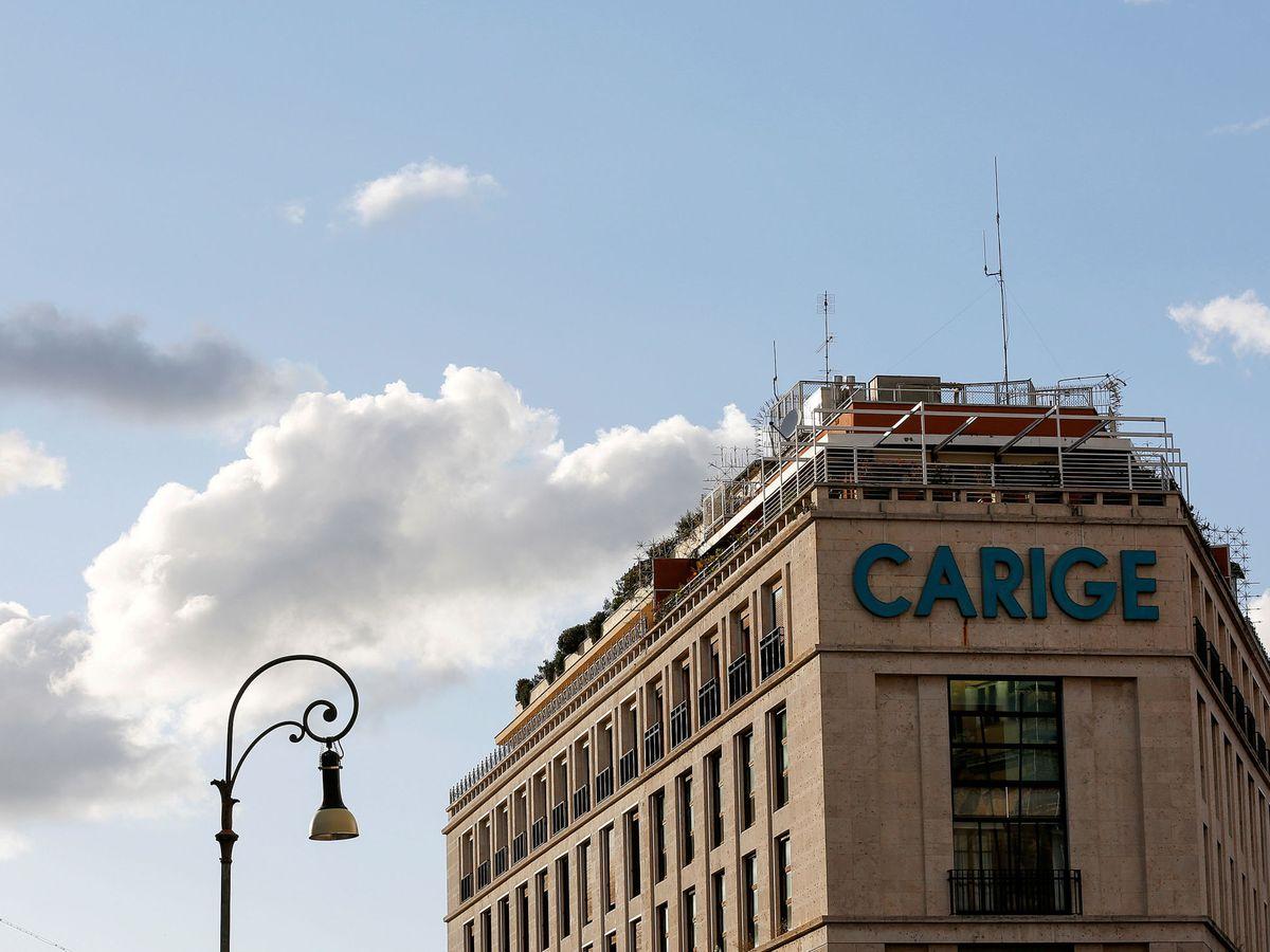 Foto: Logo de Carige. (Reuters)