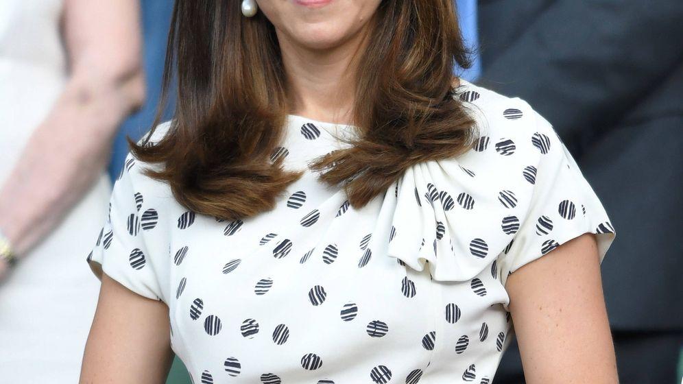 Foto: Kate Middleton durante la última edición de Wimbledon. (Getty)