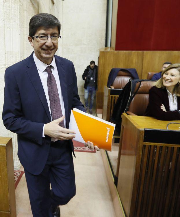 Foto: l líder andaluz de Ciudadanos, Juan Marín. (EFE)