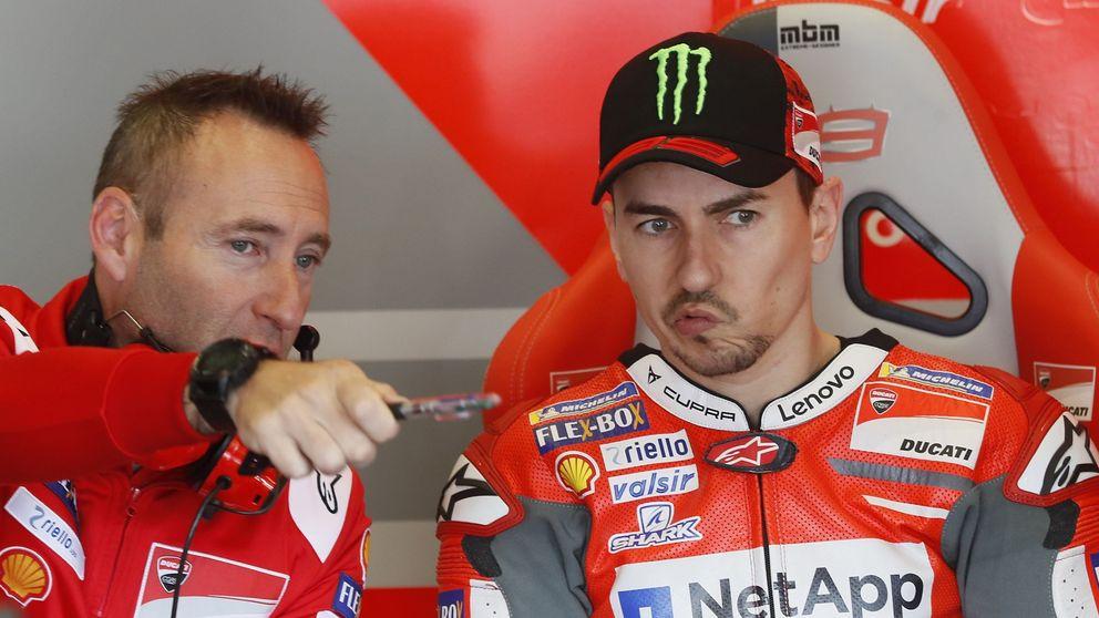 El dilema de Lorenzo, querer competir con una moto que todavía no se le adapta