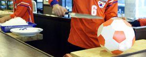 Los futbolistas desvelan sus secretos culinarios
