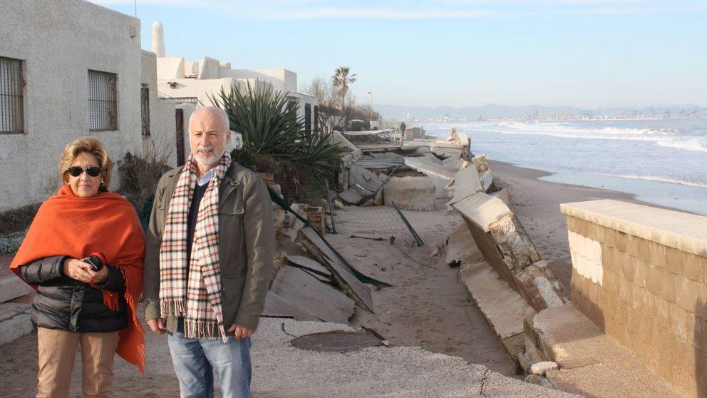 El mar está devorando mi casa: el temporal revela un drama creciente del litoral