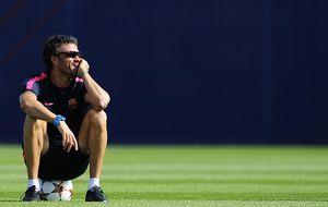 'Lucho' recupera el esfuerzo para volver por los fueros de Guardiola