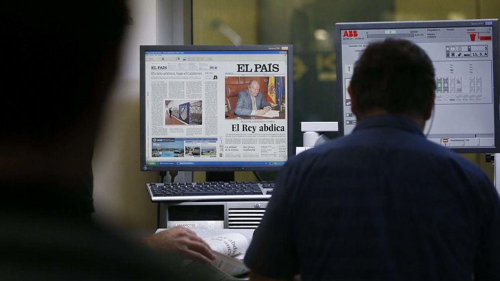 Foto: Los principales recortes salariales se han producido en la prensa de papel. (EFE)
