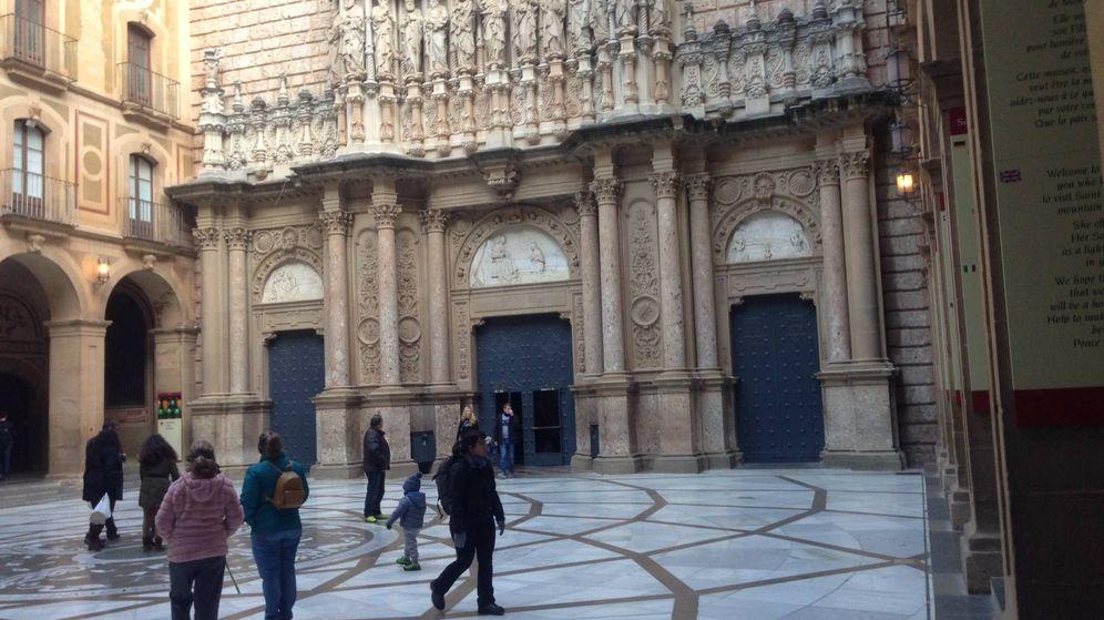 Foto: El monasterio de Montserrat. (D.B.)