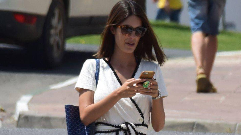 Sofía Palazuelo disfruta de sus vacaciones en Málaga. (Lagencia Grosby)