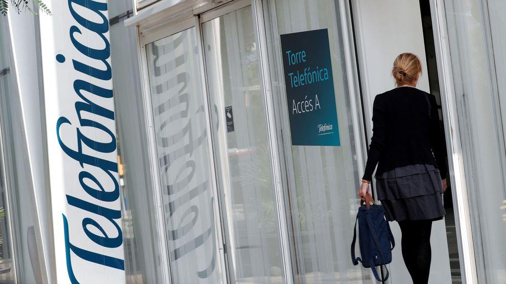 Foto: Foto de archivo del edificio de Telefónica en Barcelona. (Reuters)