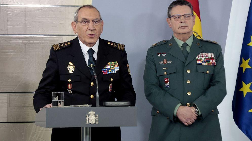 Foto: El director adjunto de la Policía, José Ángel González, ha anunciado esta mañana la amenaza. (EFE)