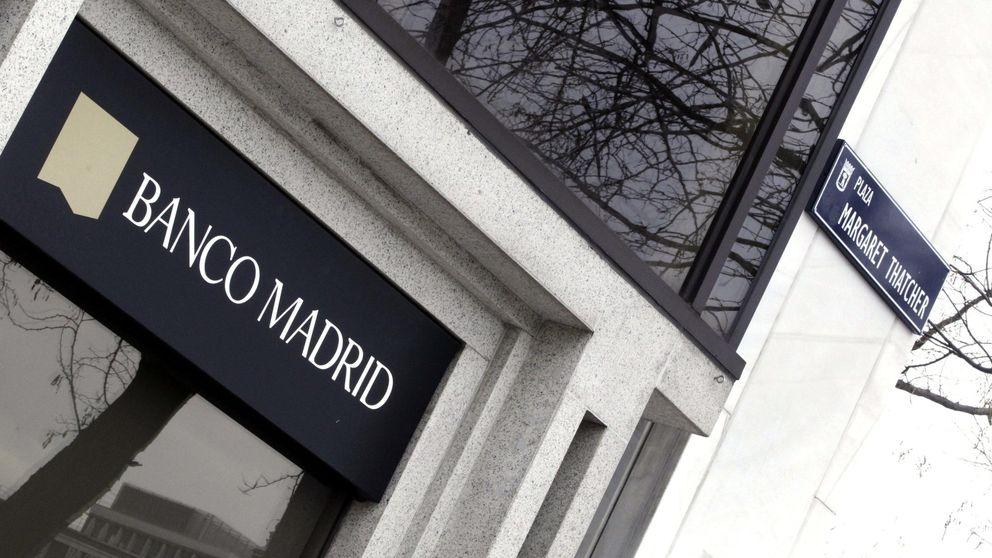 Los atrapados en Banco Madrid empezarán ya a recuperar su dinero