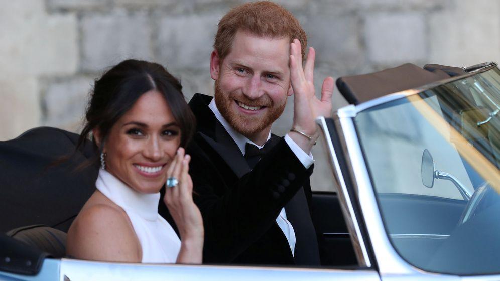Foto: El príncipe Harry y Meghan Markle abandonado el castillo de Windsor. (Reuters)