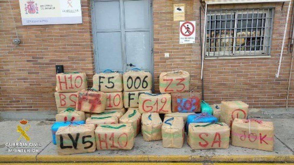 Foto: Incautación de 2.407 kilos de hachís en Algeciras