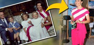 Post de Victoria de Suecia rebusca en el baúl de los recuerdos de su madre