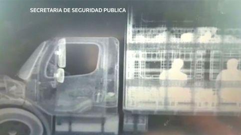 México localiza a 50 migrantes mediante una megamáquina de rayos X