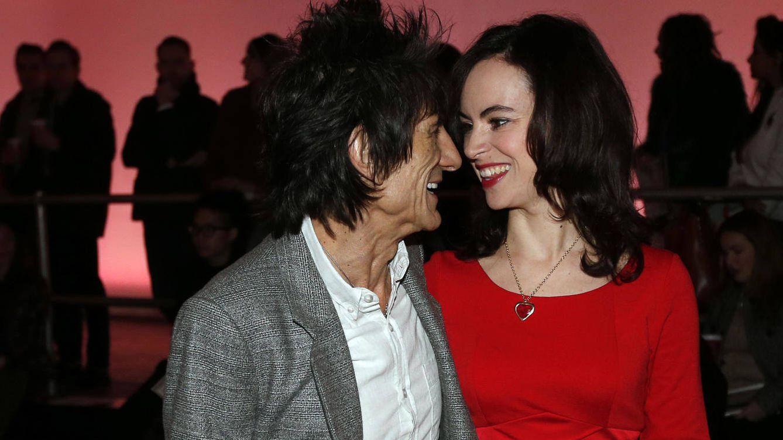 Foto: Ronnie Wood y su mujer, Sally (Reuters)