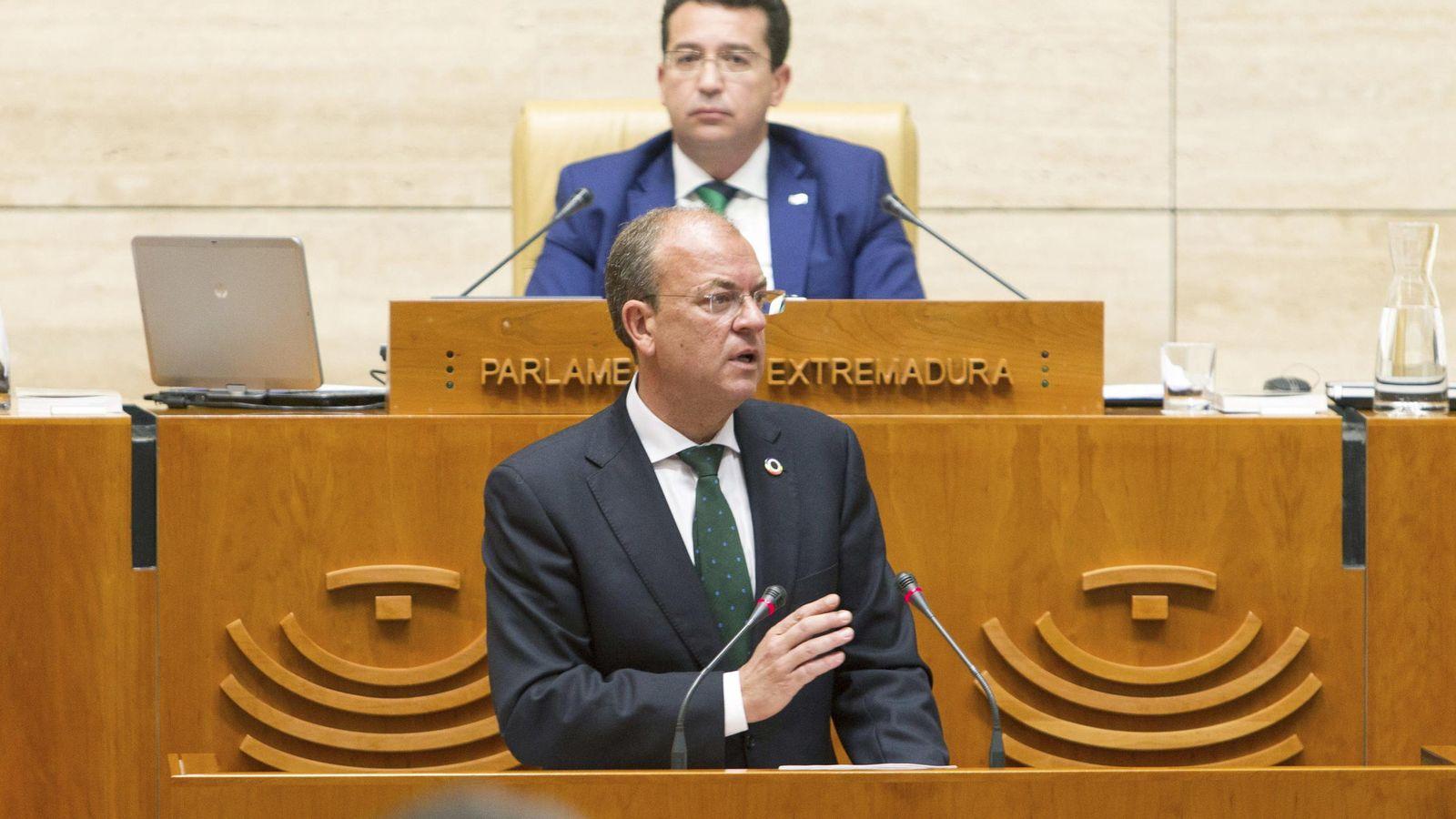 Foto: El presidente extremeño, José Antonio Monago (EFE)