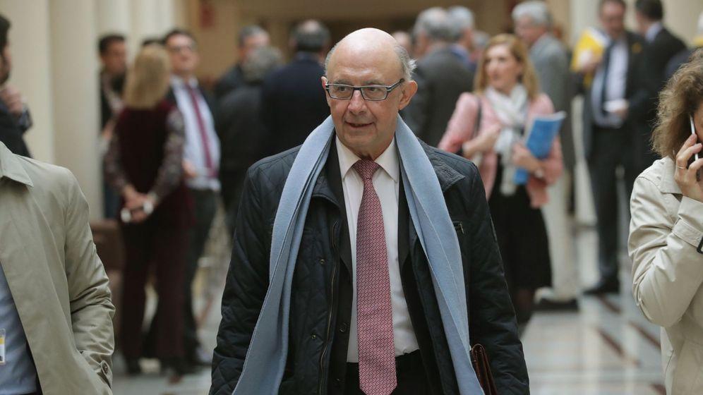 Foto: El ministro de Hacienda y Función Pública, Cristobal Montoro. (EFE)