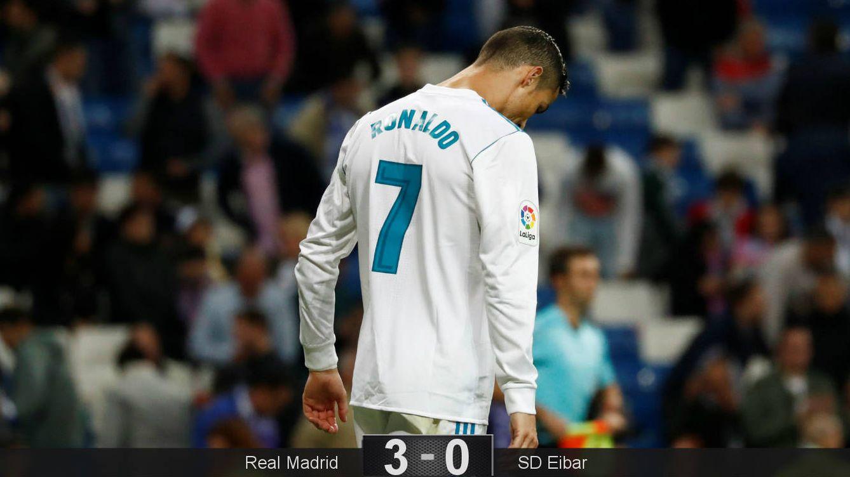 Foto: Cristiano volvió a quedarse en blanco. (Reuters)