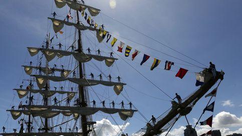 El buque escuela de la armada de México