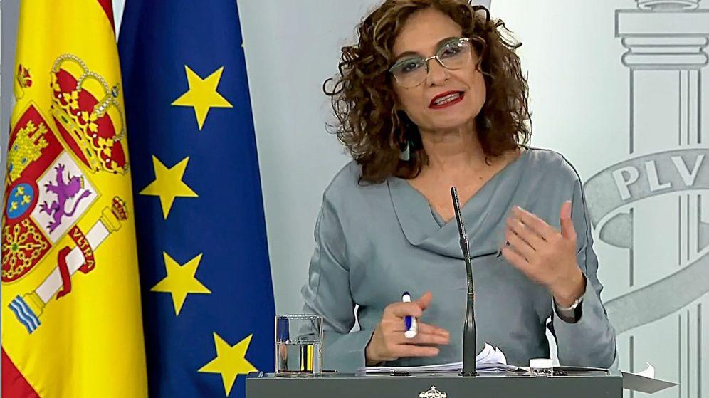 Foto: La ministra de Hacienda y portavoz, María Jesús Montero (EFE)
