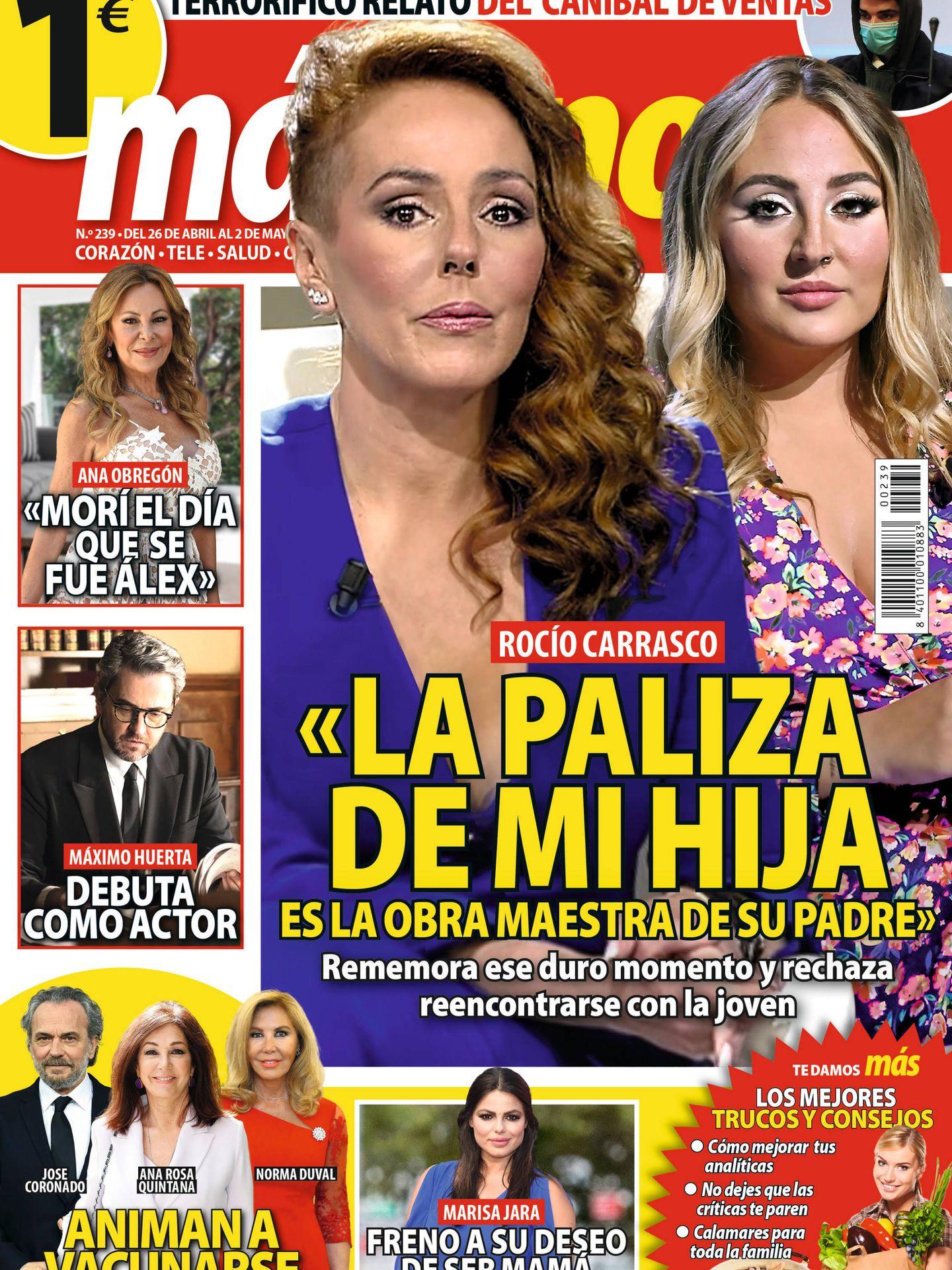 Portada revista 'Más'. (Cortesía)