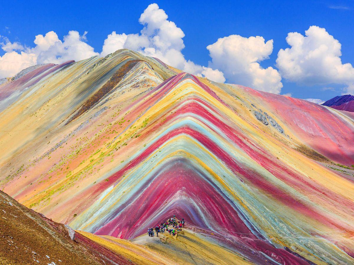 La Montaña Arcoíris de Perú: una ruta hacia 7 increíbles colores que puede  llevar a engaño