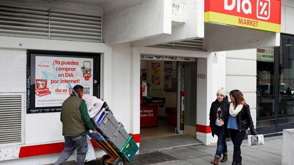 Foto: Un supermercado de DIA. (Reuters)