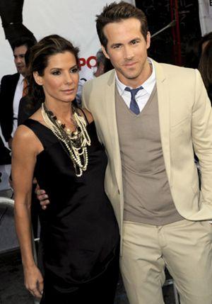 Los actores Sandra Bullock y Ryan Reynolds, dispuestos a formar su propia familia