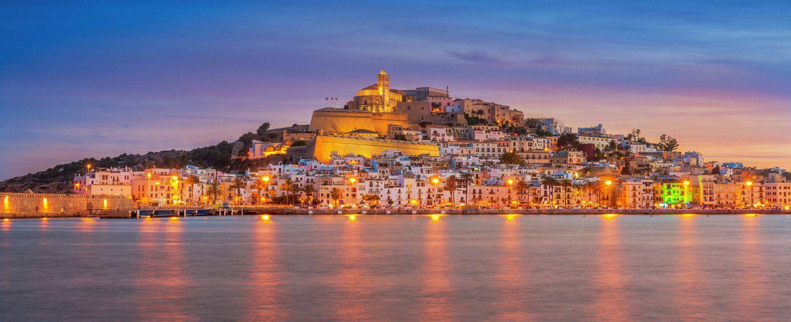 Foto: Una panorámica de Ibiza.