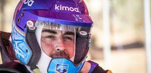 Post de Fernando Alonso y su maltrato al coche en su primera experiencia con el Dakar