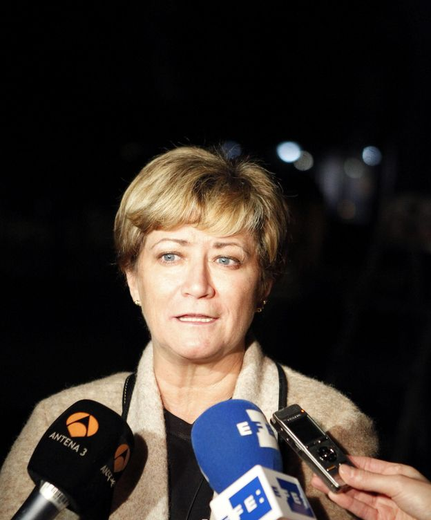 Foto: Isabel de la Fuente, madre de Cristina Arce, una de las cinco chicas fallecidas en la tragedia del Madrid Arena. (EFE)
