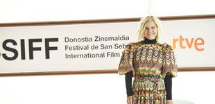 Post de Eugenia Mtnez. de Irujo reinventa un vestido de Inés Domecq y triunfa en San Sebastián