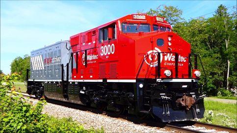 Este tren eléctrico que funciona con baterías reduce el uso de combustible en un 11%