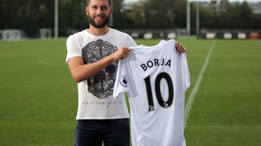 Foto: Borja llevará el '10' en el Swansea (Swansea FC).