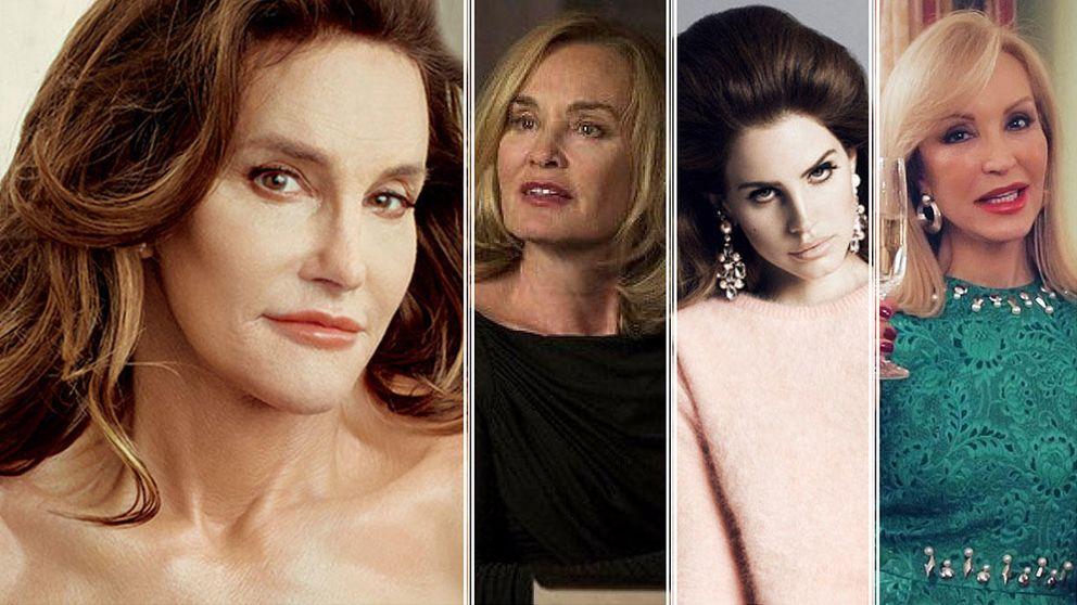 Bruce Jenner ya posa como Caitlyn Jenner para Annie Leibovitz