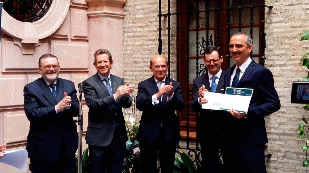 Foto: Rafael Gómez, a la izquierda con sus hermanos Epifanio, Esteban y Juan Carlos.